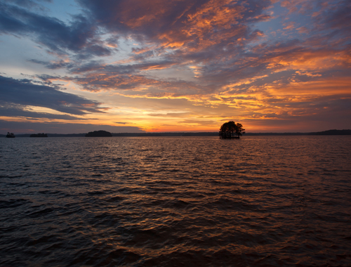 OUR MISSION: Protecting the beauty of Lake Lanier.