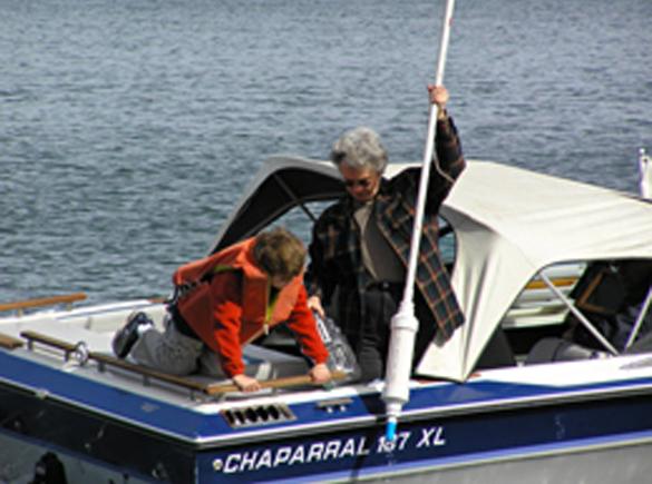 Help monitor lake health.
