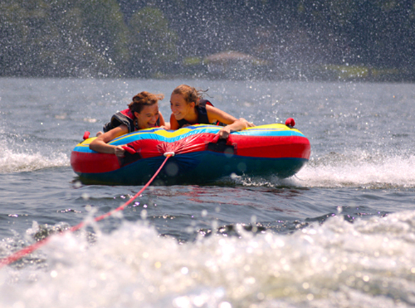 Enjoy the lake safely - know the rules.