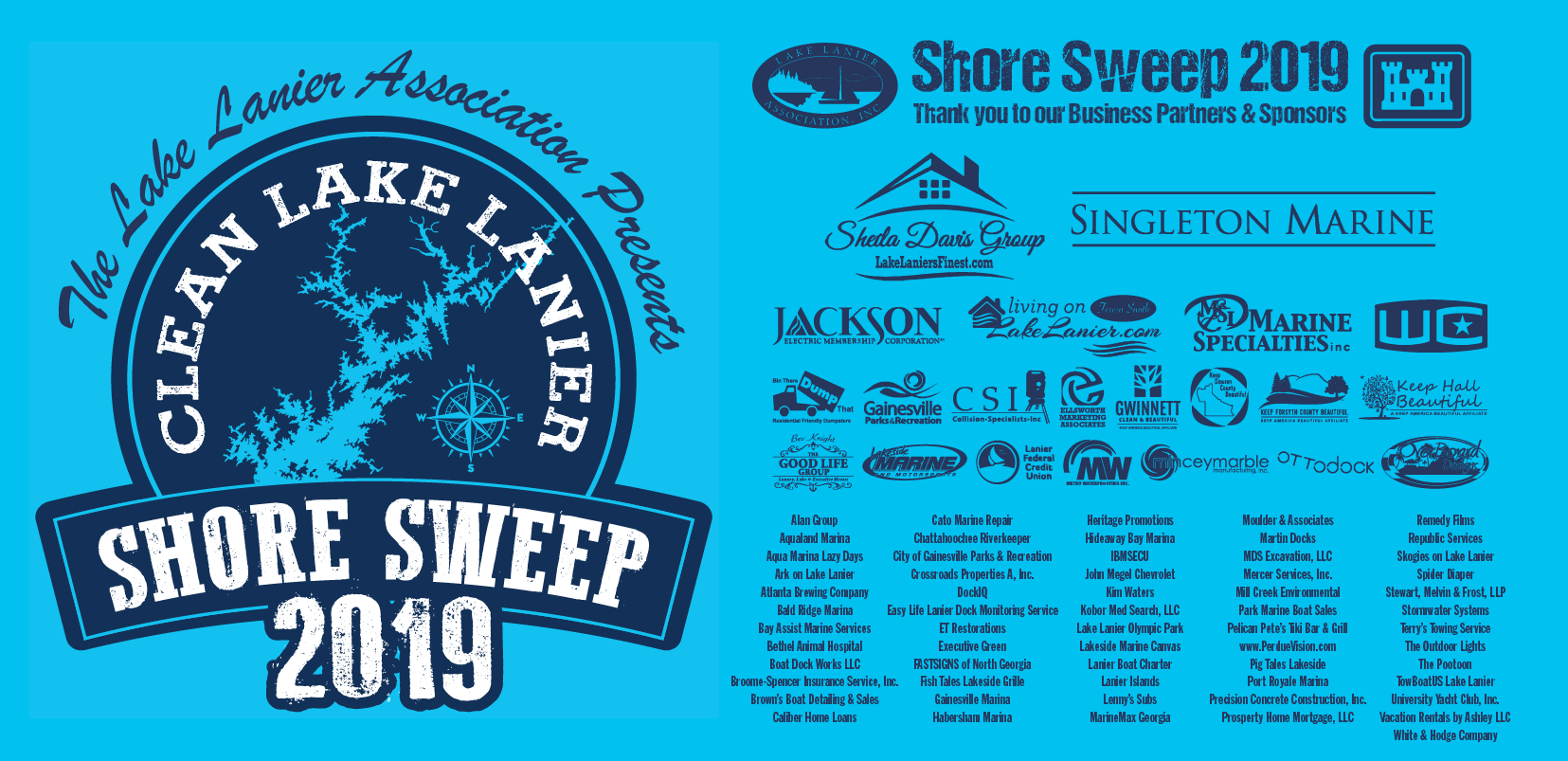 lake lanier association shore sweep GA 2019 Georgia