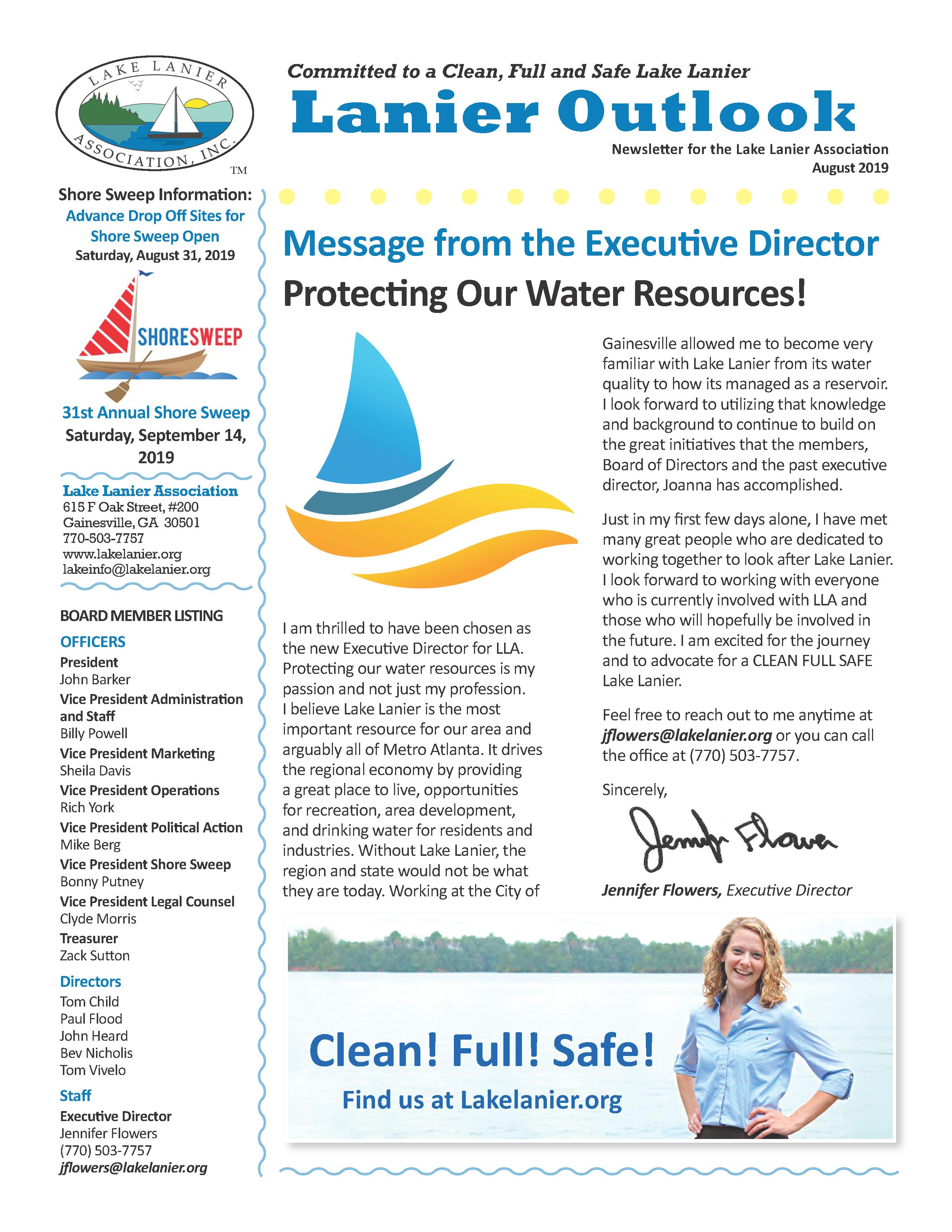 What's Happening – Lake Lanier Association